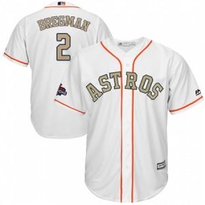 info for 14a2a 2a3f8 Men's Majestic Houston Astros #2 Alex Bregman Replica Orange ...